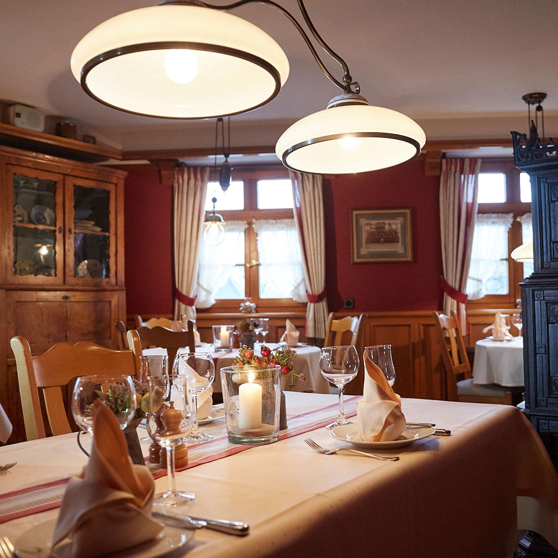 Landhotel und Gasthof Cramer Räumlichkeiten Restaurant Ansicht 2
