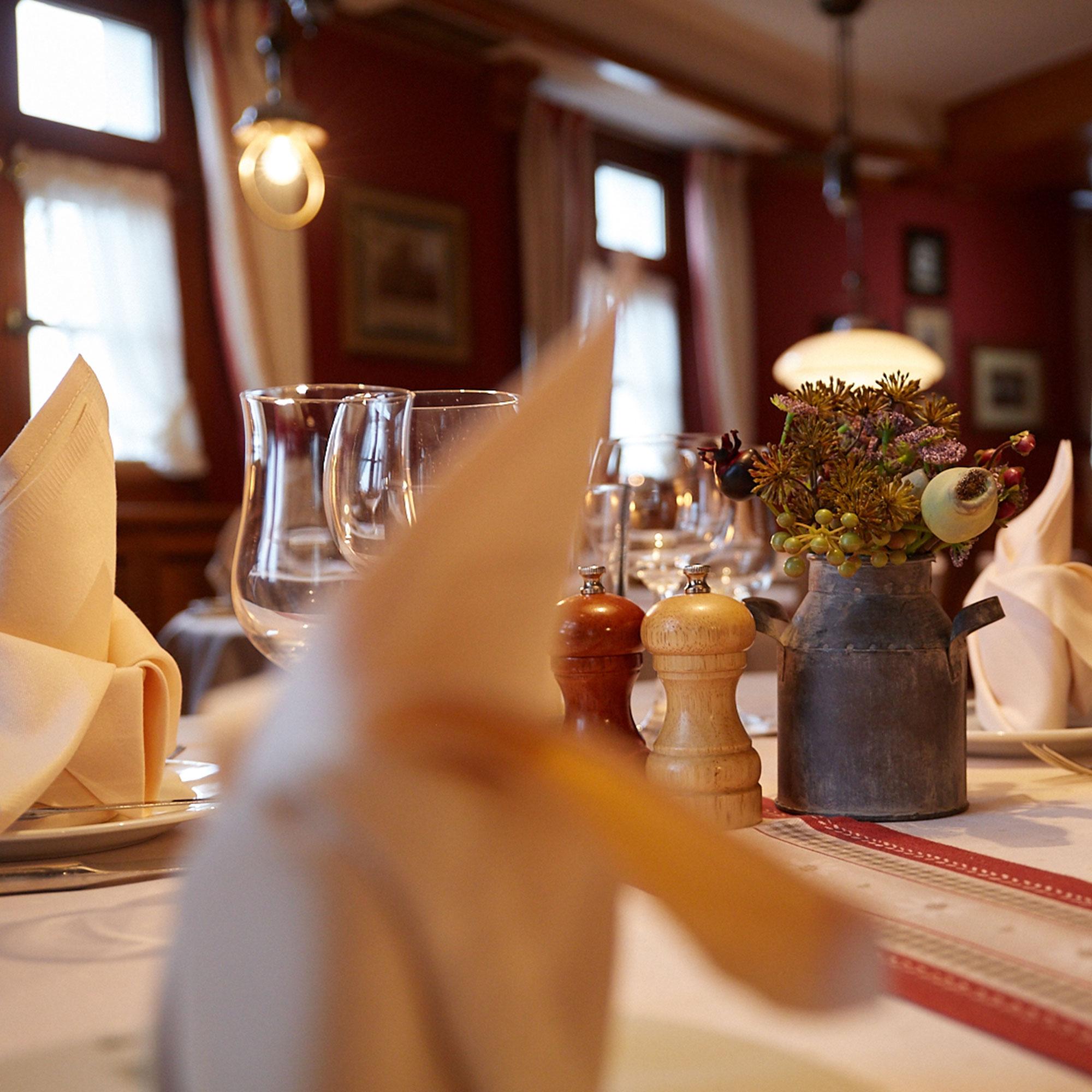 Landhotel und Gasthof Cramer Räumlichkeiten Restaurant Ansicht 3