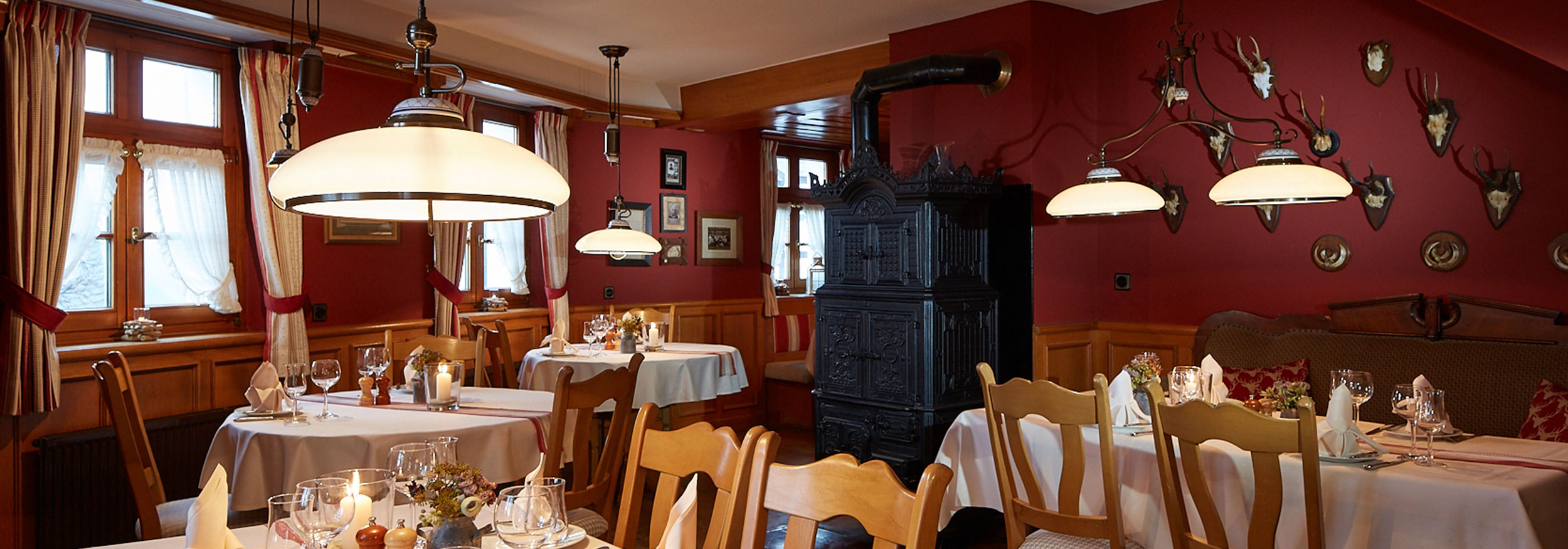 Landhotel und Gasthof Cramer Räumlichkeiten Restaurant Ansicht 1