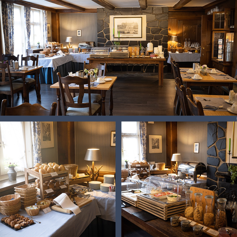 Landhotel und Gasthof Cramer Räumlichkeiten Restaurant Ansicht Mobile